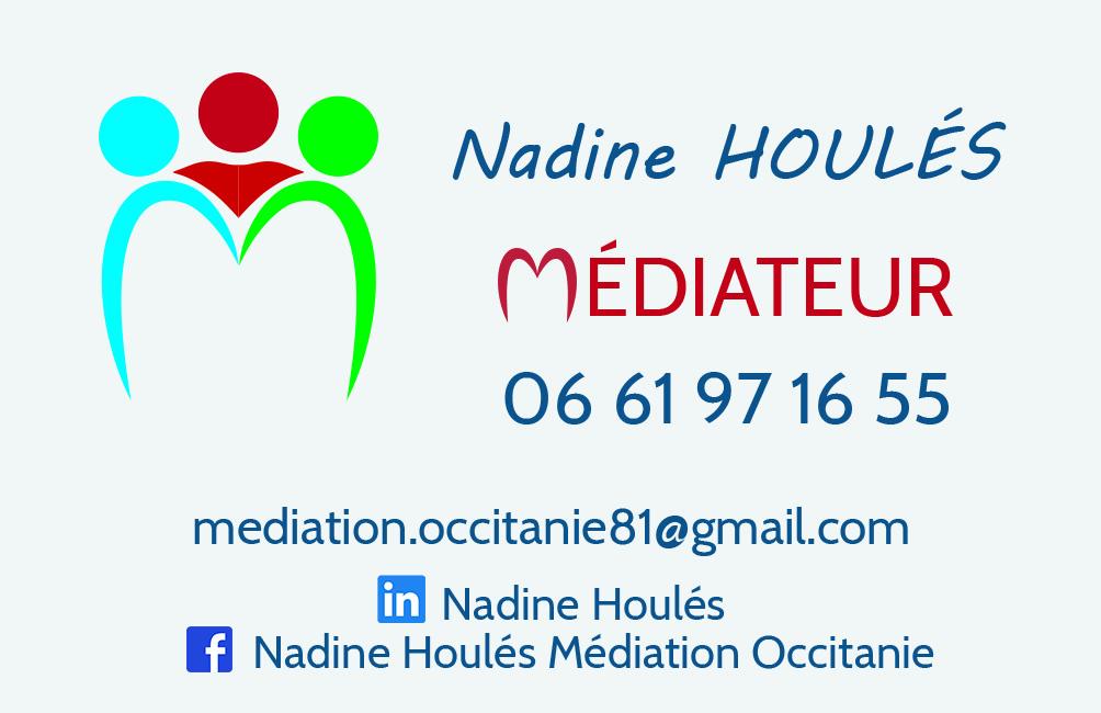 Nadine Houlés - Médiateur