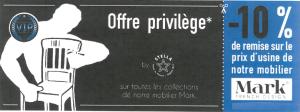 offre privilege STELLA