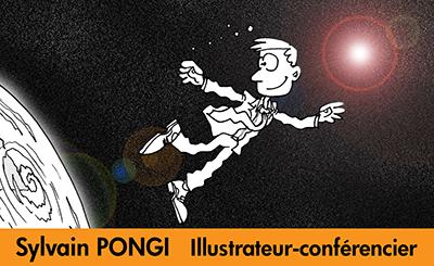 Sylvain PONGI Illustrateur-conférencier