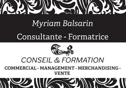 Myriam Balsarin - consultante, formatrice