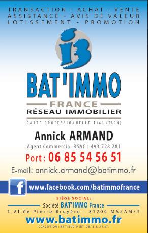 Agence Bat'Immo - Annick Armand