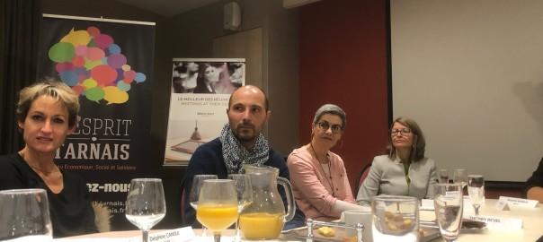 Rencontre conviviales et professionnelles lors du Speed Réseau Esprit Tarnais à Castres